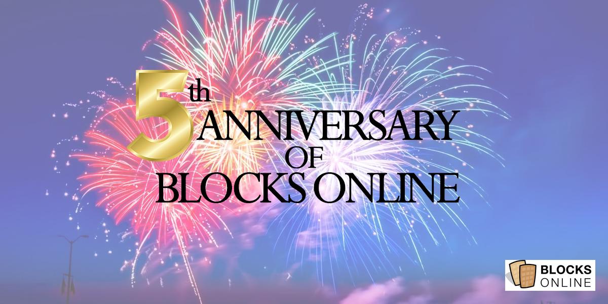 5 year anniversary image