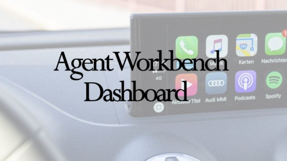 Agent Workbench Dashboard Banner