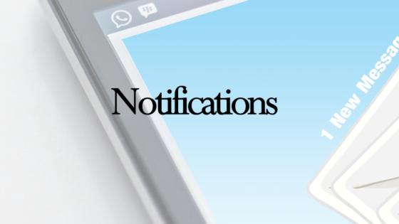 Notification Banner