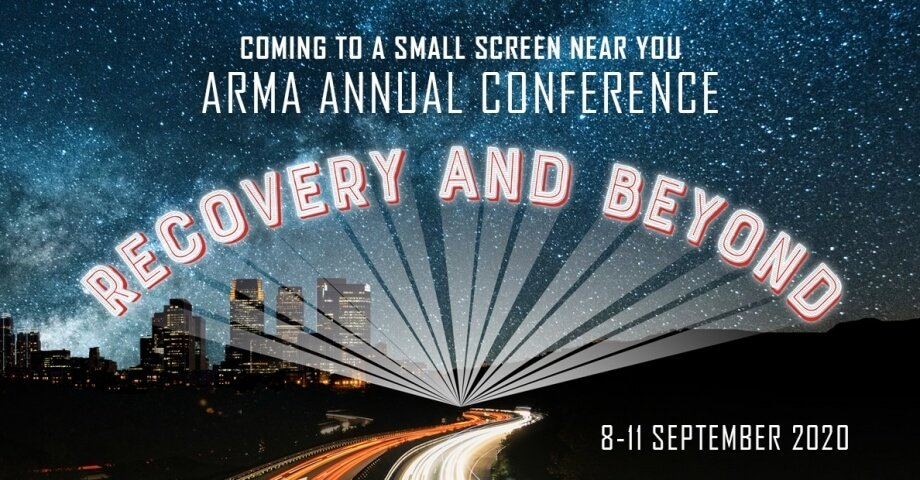 ARMA conference graphic